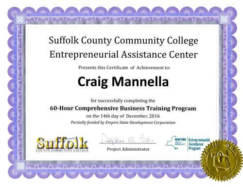 Suffolk County Community College Entrepreneurial Assistance Center